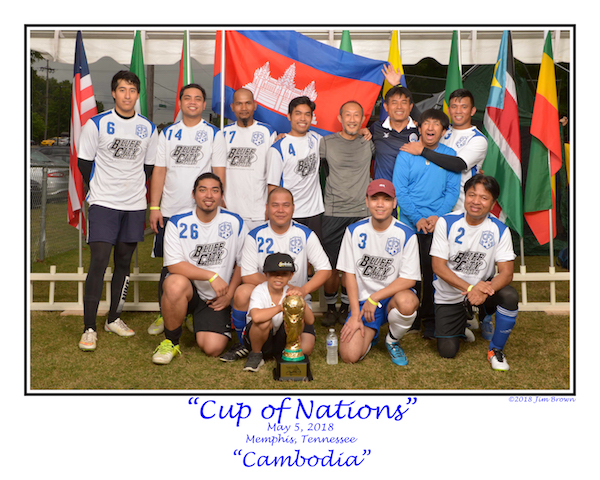 May 5, 2018; Memphis, TN, USA; During the Cup of Nations competition at Christ United Methodists Church. Mandatory Credit: ©2018Jim Brown